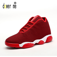2017 Red Grey Black authentic men basketball shoes classic shoes retro comfortable men and women outdoor sneakers jordan shoes(China)