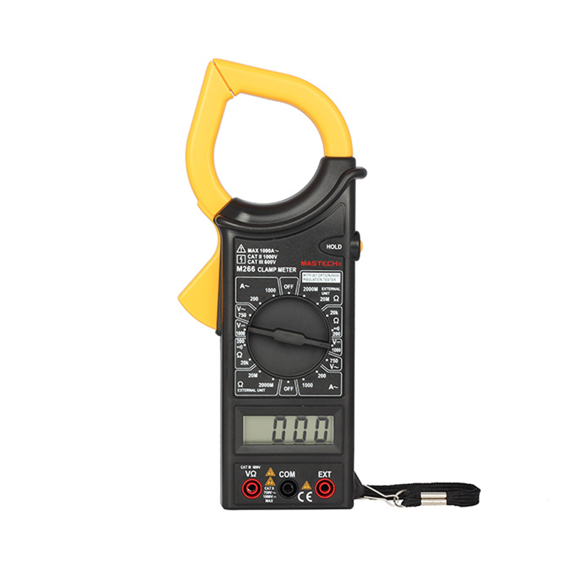 Mastech M266 Clamp Meter AC/DC Digital Multimeter Voltage Current Resistance Insulation Frequency Temperature Electrical test<br><br>Aliexpress