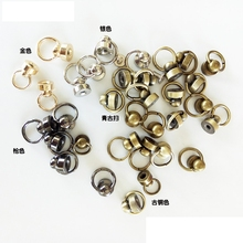 50sets=100pcs D rings Belt Buckles Metal Plating Bags Promotion Phone Decoration Wonmen Bags Buckle Accessories Clasp Hook Dog