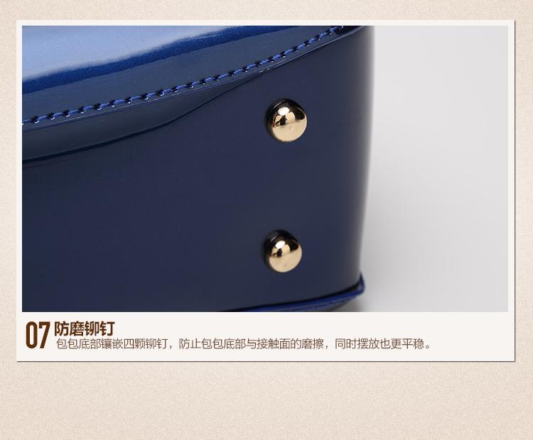 New High Quality Patent Leather Women bag Ladies Cross Body messenger Shoulder Bags Handbags Women Famous Brands bolsa feminina (29)