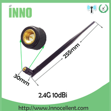 free shipping 2pcs 2.4G 10dBi High gain Antenna,Wifi Antenna,Wireless WiFi Router antenna