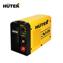 Huter R-200 High Quality Wave Pulse Inverter Welder Portable Inverter Welding Machine 140-260V Ship from Russia