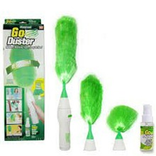 1 Set Dust Cleaning New  Brush for Blinds Furniture Electronics Multifunctional Electric Green Feather Dusters