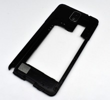 Original For Samsung Galaxy Note 3 N9005 N900 3G Back Middle Frame Rear Housing With Camera cover Panel Lens Replacement