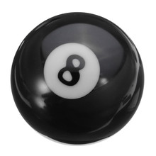 Best Deal 1 PCS Billiard Balls #8 Billiard Pool Ball Replacement EIGHT BALL Standard Regular Size 2 1/4'' Black 8 Ball