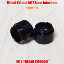 10PCS/Lot M12 Mount Thread Extension Adapter Extender for MTV Interface CCTV Lens and Video Security Camera