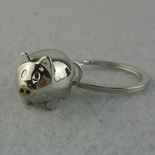 1Pc Lovely Mini Pig Keychain Keyring Keyfob Cute Gift Ring Charm Decoration  7DRI