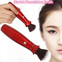 Electric Makeup Foundation Brush Blending 360 Degree Rotating Cosmetic Brushes(China)