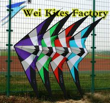 free shipping high quality 1.8m storm dual line stunt kite with handle line albatross kite -stunt desert eagle rainbow birds