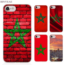 BINYEAE Morocco Moroccan Clear Cell Phone Case Cover for Apple iPhone 4 4s 5 5s SE 5c 6 6s 7 Plus(China)