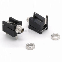 10Pcs Good Quality PJ202M 2.5mm Female Audio Connector 3 Pin DIP Headphone Jack Socket Mono Channel PJ-202M(China)