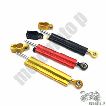 Sale For z800 z750 yamaha r6 mt07 fz6 r3 ninja 300 mt 09 xj6 CNC Damper Steering StabilizerLinear Reversed Safety Control Over(China)
