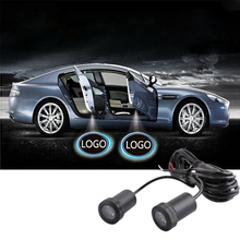 Audi 2pcs Car Door Light 7W Cree Led Chip Lamp Loge Laser Welcome Bulb Shadow Projector Light For Audi D010(China)