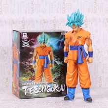 "Dragon Ball Z Resurrection F Son Gokou Master Stars Piece PVC Action Figure Collectible Model Toy Boxed 11"" 28cm"