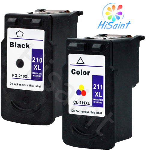 Hot 2 Pack  for Canon PG-210XL CL-211XL Ink Cartridge Black &amp; Color Combo [Hisaint ]selling in the USA and Russia<br>