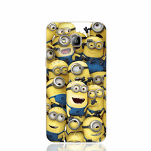 18158 For crowd cute Minions design cell phone case cover for Samsung Galaxy J1 ACE J5 2016 J7 N9150