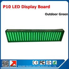 Advertising led display P10 outdoor led display screen 320*160mm green led panels waterproof led sign