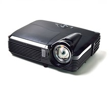 Portable Shutter 3D HD DLP Projector Short Throw 6500 Lumens for TV Camera Video Game Home Theater Beamer Office School Display