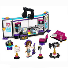 10403 175pcs Friends Building Blocks Sets Pop Star Music Recording Studio Girl Olivia BELA Toy Bricks Compatible 41103 Figures(China)