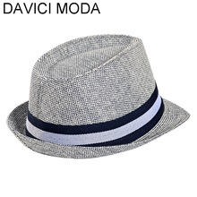 Unisex Women Men Casual Trendy Beach Sun Straw Panama Jazz Hat Cowboy Fedora Gangster Cap with Black Ribbon Apparel Hot
