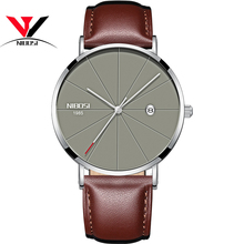 Buy NIBOSI Quartz Wrist Watch Man Luxury Leather Ultra Thin Watches Men Relogio Feminino Fashion Casual Unisex Watches 2018 New for $30.10 in AliExpress store