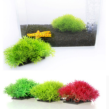 Artificial Grass Aquarium Decor Water Weeds Ornament Plant Fish Tank Decorations & Ornaments(China)