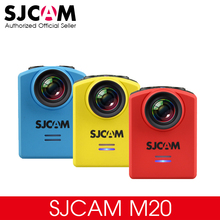 Original SJCAM M20 Gyro Mini Action Helmet Sports DV Camera Waterproof 4K 24fps 2K 30fps NTK96660 16MP With RAW Format(China)