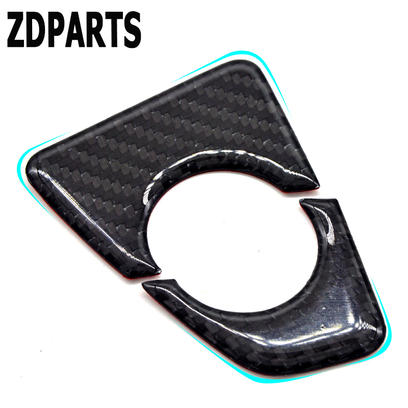 ZDPARTS Gears Shift Panel Interior Car Stickers Car Styling BMW F30 F35 Accessories 3-Series GT 320i 328i Carbon Fiber