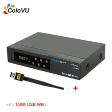 Satelite receiver Freesat V7 ATSC Combo + USB WiFi DVB-S2  Support powervu cccam biss for Mexico Canada USA North America
