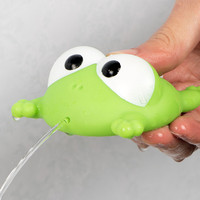 1Pcs Baby Bath Toys Lovely Mixed Animals Colorful Soft Rubber Float Bathing Toy For Baby Dabbling Toys For Children Frog Big