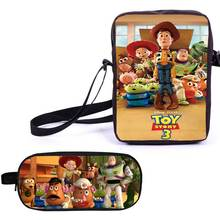 Kids Mini Cute Crossbody Bag Cellphone Wallet Purse Snack Bag Toystory pattern Small Message Bag for Teenagers girls boys