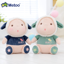 Metoo Plush Sheep Wolf Sleeping Doll Small Stuffed Animal Kids Toys For Children Stuffed Toys For Girls Doll Soft For Kids