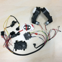 Children electric car DIY accessories wires and gearbox,Self-made kid's car full set of parts