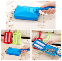 Carpet Table Brush Plastic Handheld Crumb Sweeper Sofa Bed Brush Dirt Cleaner Collector Roller For Home Cleaning Tools