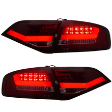 Top quality for Audi A4 A4L A4L/B8 LED Tail lights 2008 to 2012 year replacement for Halo models Red housing LED Turn light