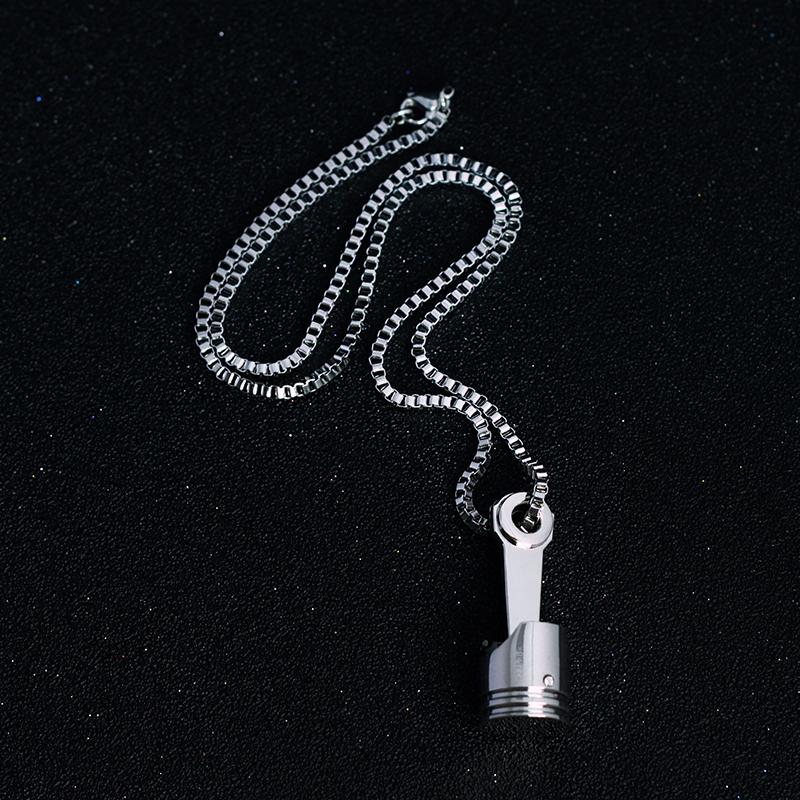 Mini Engine Piston Necklaces