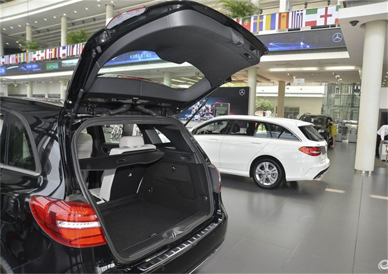 Car Rear Trunk Security Shield Cargo Cover For Mercedes-Benz B Class W246 B180 200 260 2015.2016.2017 Trunk Shade Security Cover