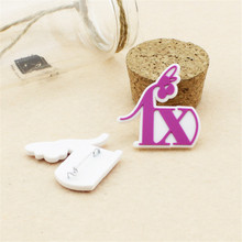 Wholesale KPOP Fan FX f(x) Team Logo Plastic Badge Brooches For Clothes P0430(China)