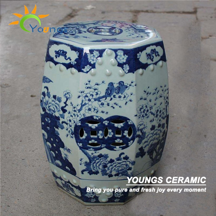 Antique Chinese HAND PAINTED Blue and White Porcelain Garden Furniture Stool (China) & Online Buy Wholesale porcelain garden stool from China porcelain ... islam-shia.org