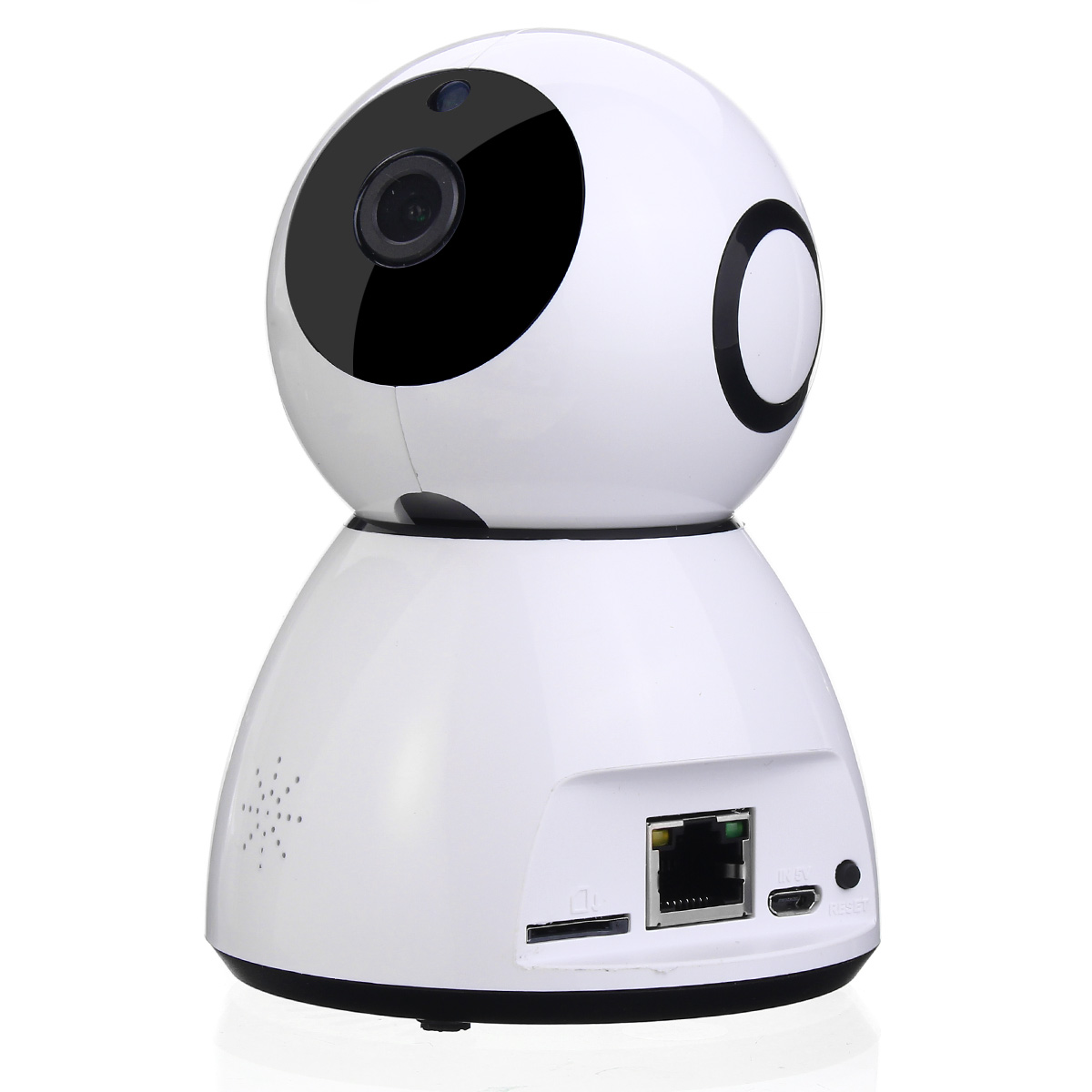 Safurance WiFi Intelligent IP Camera Rotation 1080P Wireless Night Vision HD Network Baby Monitor Home Security<br>