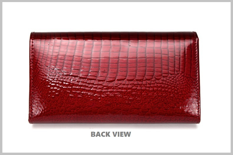 VICKAWEB Genuine Leather Small Wallet Women Wallets Alligator Short Purse Coins Hasp Girls Wallet Fashion Female Ladies Wallets-008