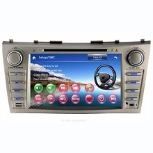 8 inch Car DVD GPS For Toyota Camry 2007-2011 Double 2 Din Car GPS Navigation System Radio Stereo Head Unit