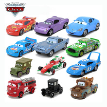 Disney Pixar Cars 27 Styles 1:64 Lightning McQueen Mater Diecast Metal Alloy Toys Birthday Christmas Gift For Children Cars Toys