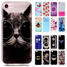 For Apple iPhone 7 for iPhone 7 Plus Sprint Phone Protective Cases for iPhone7 Luxury IMD TPU Silicone Rubber Soft Cartoon Cover