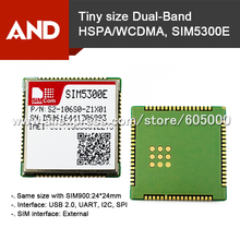 2pc 3G+EDGE 3G Router module WCDMA/HSPA 900/2100MHz GSM/GPRS/EDGE 900/1800MHz SIM5300E data transfer only,no voice free shipping