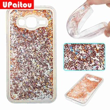 Buy UPaitou Samsung Galaxy J3 2016 Dynamic Liquid Glitter Paillette Case Samsung J3 2016 Bling Back Cover TPU Silicon Case for $2.79 in AliExpress store
