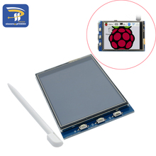 2014 New Arrival 1Pcs 3.2 Inch LCD Touch Screen Display Monitor Module For Raspberry Pi 3 B B+