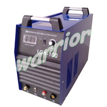380V 3 Phase Air Plasma Cutting Machine Inverter Cutter LGK100 CUT 100 with P80 Torches Earth Clamp Air Gauge(China)