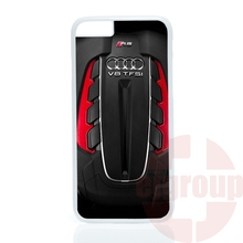 For Apple iPhone 4 4S 5 5C SE 6 6S 7 Plus 4.7 5.5 iPod Touch 4 5 6 The Audi Twin Turbo V8 case Accessories