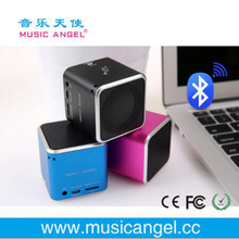 Bluetooth Mini Speaker Receiver Boombox original music angel Portable Caixa De Som Amplifier MP3 Subwoofer With Mic Loudspeaker(China)